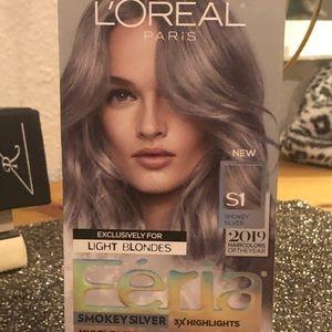 L'Oréal Féria S1 Smokey Silver permanent haircolor